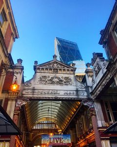 The Cheese Grater And Leadenhall Market