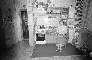 Zofia Rydet, Sociological Record, Krakow Region, Wieliczka, Miedzybrodzcy Family, 1985. People in Interiors cycle © Zofia Augustynska-Martyniak