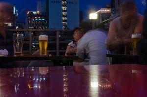 A beer in a strange city