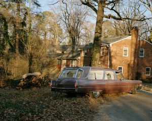Hearse in My Childhood Driveway