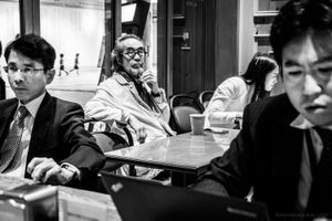 The Old Man and the Salarymen - Tokyo, 2016