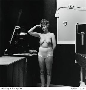 Birthday Suit - Age 59 © Lucy Hilmer