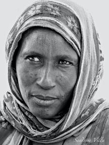 Portrait d'une femme Wodaabe