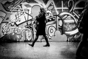 Graffiti Walking