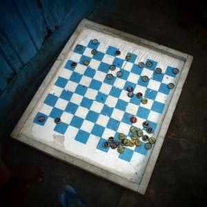 Jeu de Dames - Checkers, Pointe-Noire 2012 © Caroline Blache