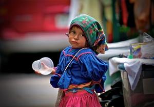 The Huichol Native Girl