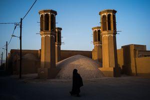 Badgirs in Yazd.