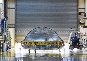 EADS Space, [ASTRIUM], ATV, Les Mureaux, France, 2011 © Vincent Fournier