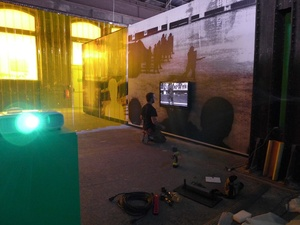Hanging installation. Arles, June 2015