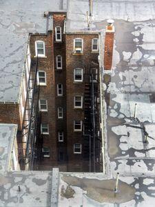 Commonwealth Avenue rooftop, Boston, MA