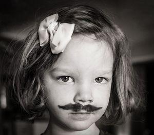 mustache day at preschool