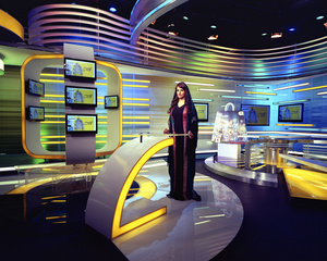 Sama TV Channel. Dubai, UAE.