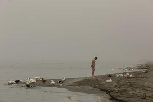 Picnic at the Caspian sea.