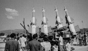 Rocketry, Cuba, Santiago de Cuba, Kuba,  January 1996