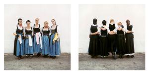 Octoberfest waitresses, Munich