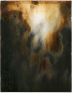"Room Study No. 20, 2013, unique silver gelatin skiagram + chemigram, 14"" x 11"""