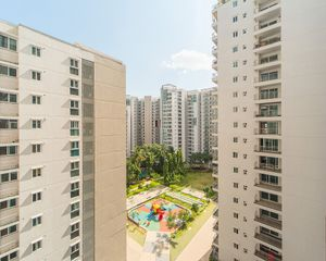 Enclosed residential complex, Bangalore