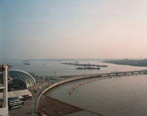 View over Shanghai Baoshan Terminal