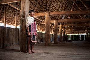 Jo Lung man in Kon Tum Province