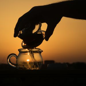 Tea at sunset 3