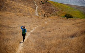 Hiking With Jeanne 1 , Del Valle Trail
