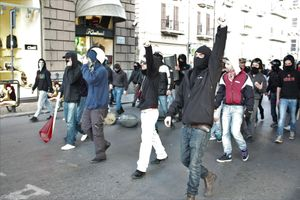 RedBlock protest