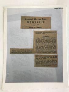 Archival Ephemera Reproduction No. 1