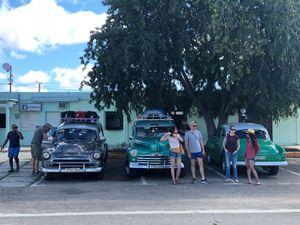 Classic Car Taxis, Playa Giron