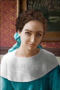 Irene Massazza at 18, 1928, after Sassi