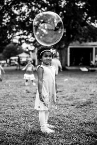 Girl with Bubble, 2018