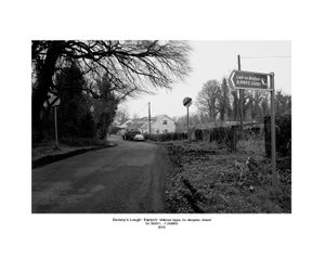 Dummy's Lough- Road Sign, Diptych