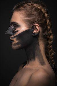 Woman warrior soldier viking 1