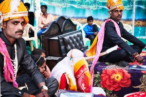 Traditional Wedding in rural Udaipur