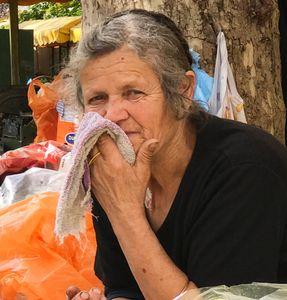 Woman in Croatia
