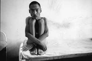 © LU Nan, Mental Hospital, Tianjing Province, from the series The Forgotten People: The State of Chinese Psychiatric Wards, 1989