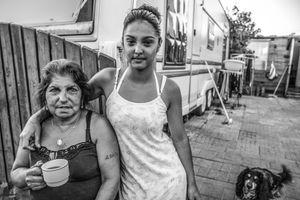 Vaïda et sa grand-mère Fillette, Polygone, Strasbourg