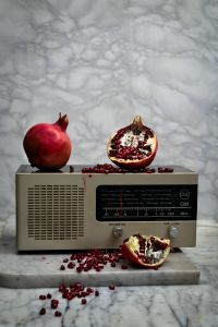 Pomegranate (3000 B.C.) and Radio (1970's)