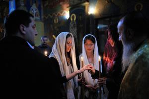 Wedding in Tbilisi.