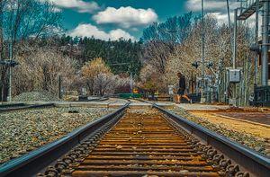Train Track Crossing