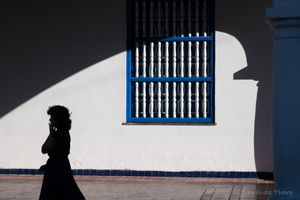 Shadow and Architecture, Santiago de Cuba.