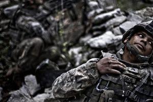 © Rafal Gerszak Platoon Afghanistan  Courtesy of Noorderlicht Gallery, Holland.