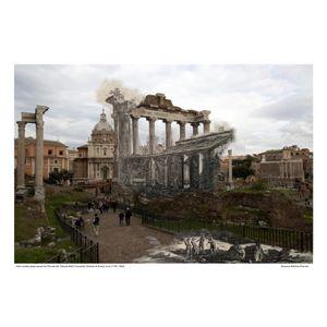 Tempio della Concordia [Vedute di Roma] circa 1778 / 2016