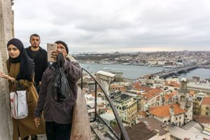 The view, Istanbul