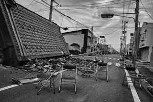 """Odaka city, from the series Fukushima """"No Go"""" Zone, © Pierpaolo Mittica."""