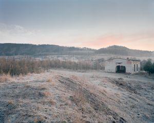 Remains of uranium mine, Okrzeszyn