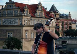 Músico callejero, Praga, 2011