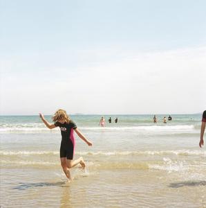 Sabina, Running through water