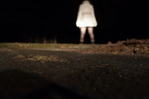 Self Portrait (Night Alone)