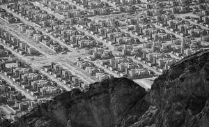 Suburban desert