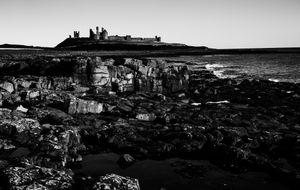 Dunstanburgh Castle from